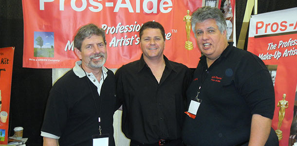 Daniel Doron of Jordane and Andre DiMino of Pros-Aide endorse us